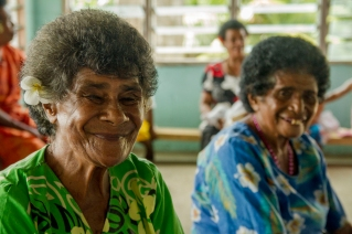 """""""Their way of life is honest and straightforward. In Fiji, you do the things you have to in order to live comfortably, and you smile and laugh a lot."""" Jozie Banas, 2014 NSF-REU Fellow"""