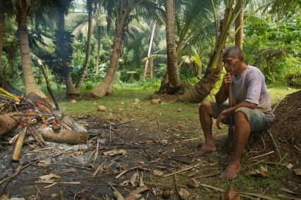 """""""The locals lived in small houses usually surrounded by chickens and coconut trees."""" Yoonhee Ryder"""