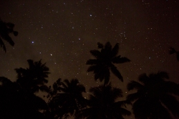 """Nighttime at camp consisted of storytelling and star gazing making nights some of our most enjoyable moments in Fiji."" Alea Rouse"